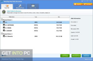 Amazing Any Data Recovery 2019 Offline Installer Download-GetintoPC.com