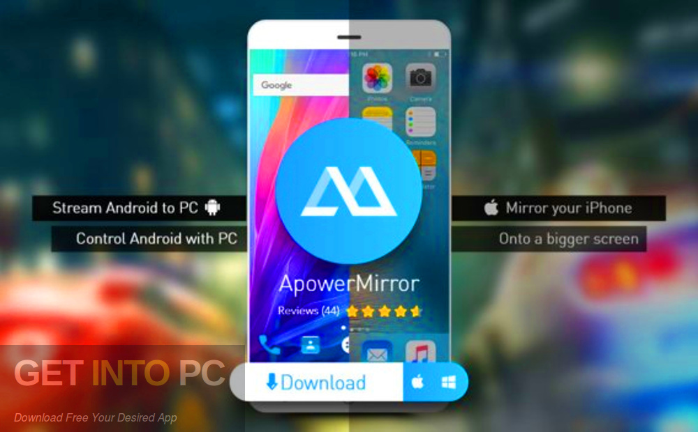 ApowerMirror 2019 Direct Link Download-GetintoPC.com