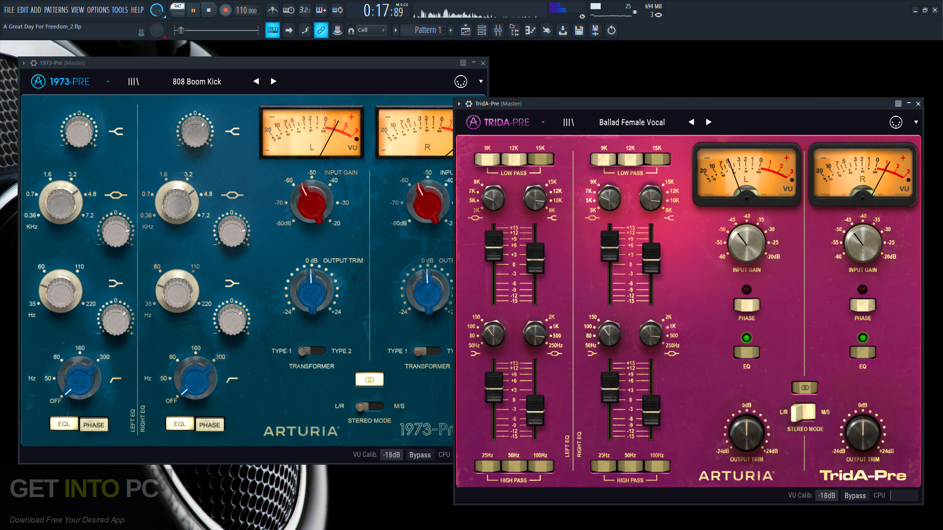 Arturia - 3 Preamps & Filters VST Latest Version Download-GetintoPC.com