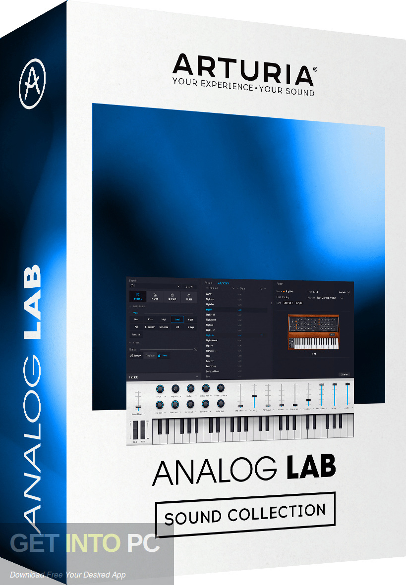 Arturia - Analog Lab VST Free Download-GetintoPC.com