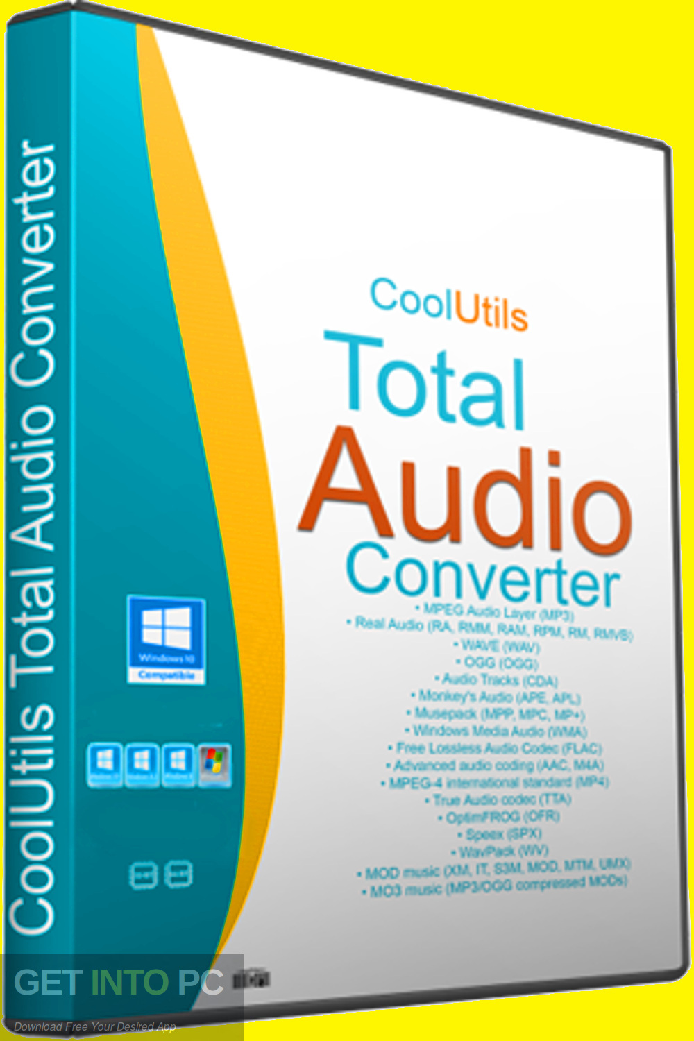 CoolUtils Total Audio Converter 2019 Free Download-GetintoPC.com
