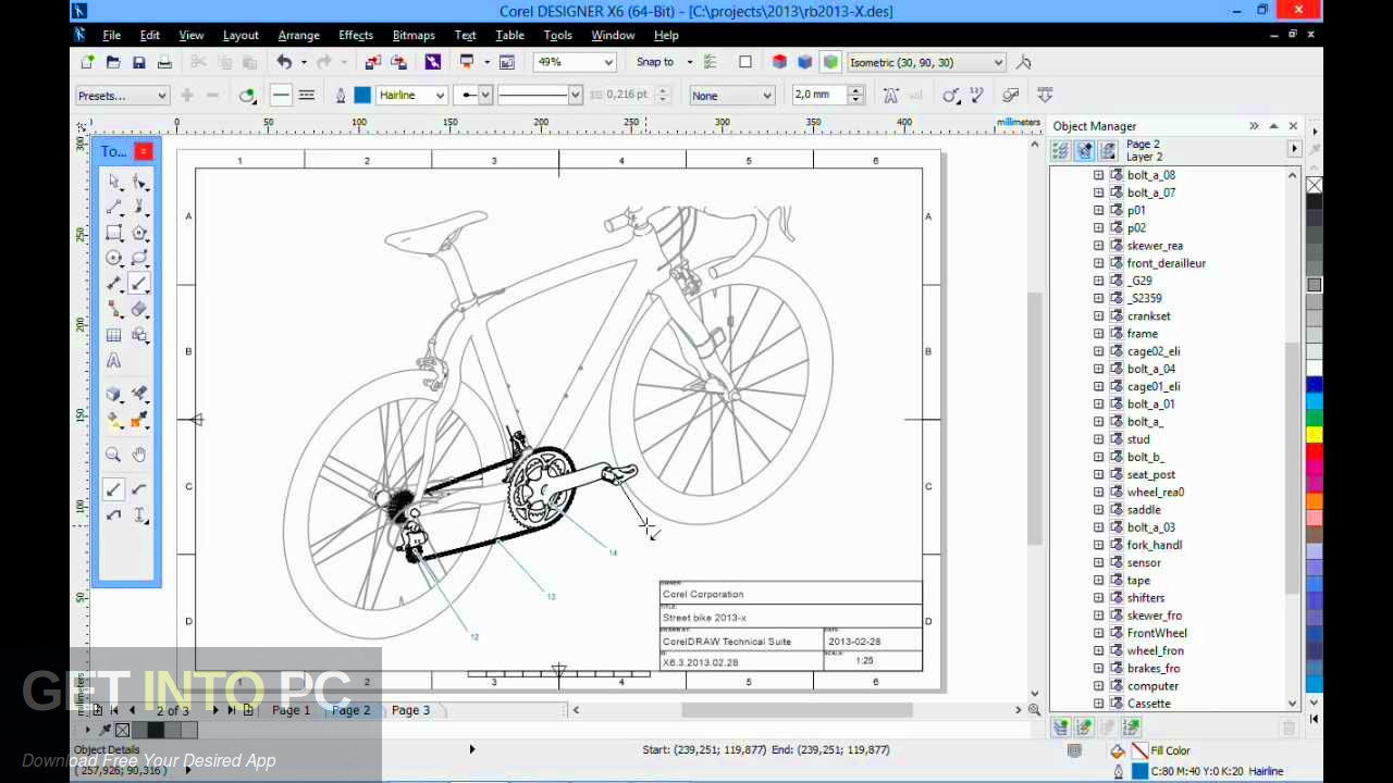 CorelDRAW Technical Suite 2019 Free Download