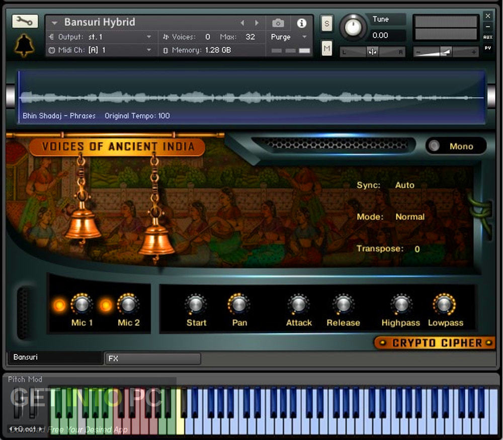 Cryptocipher - Voices Of Ancient India (KONTAKT) Latest Version Download-GetintoPC.com
