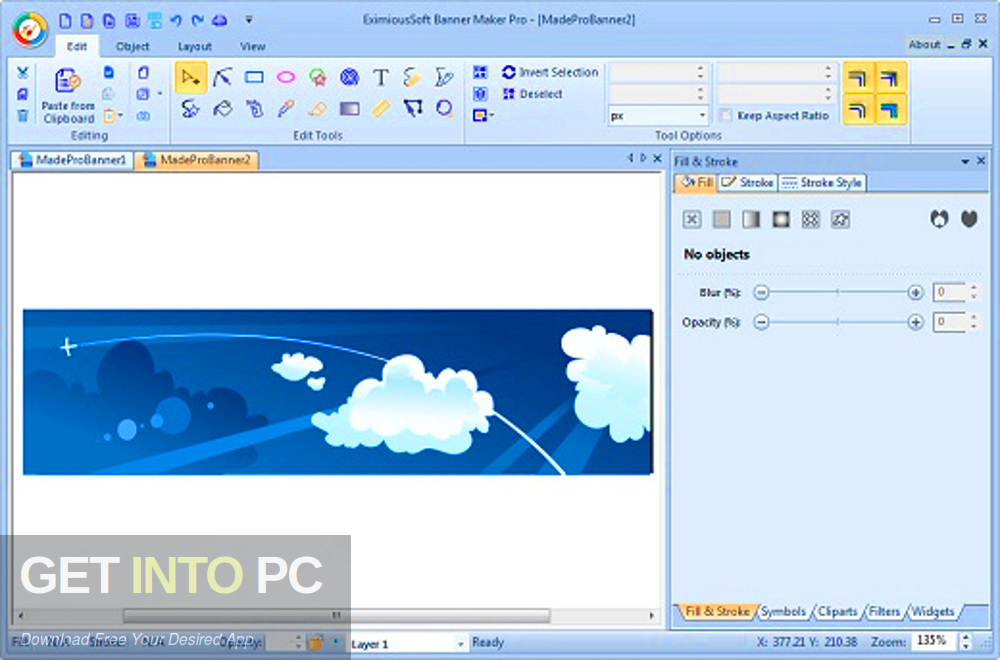 EximiousSoft Banner Maker Pro 2019 Offline Installer Download-GetintoPC.com