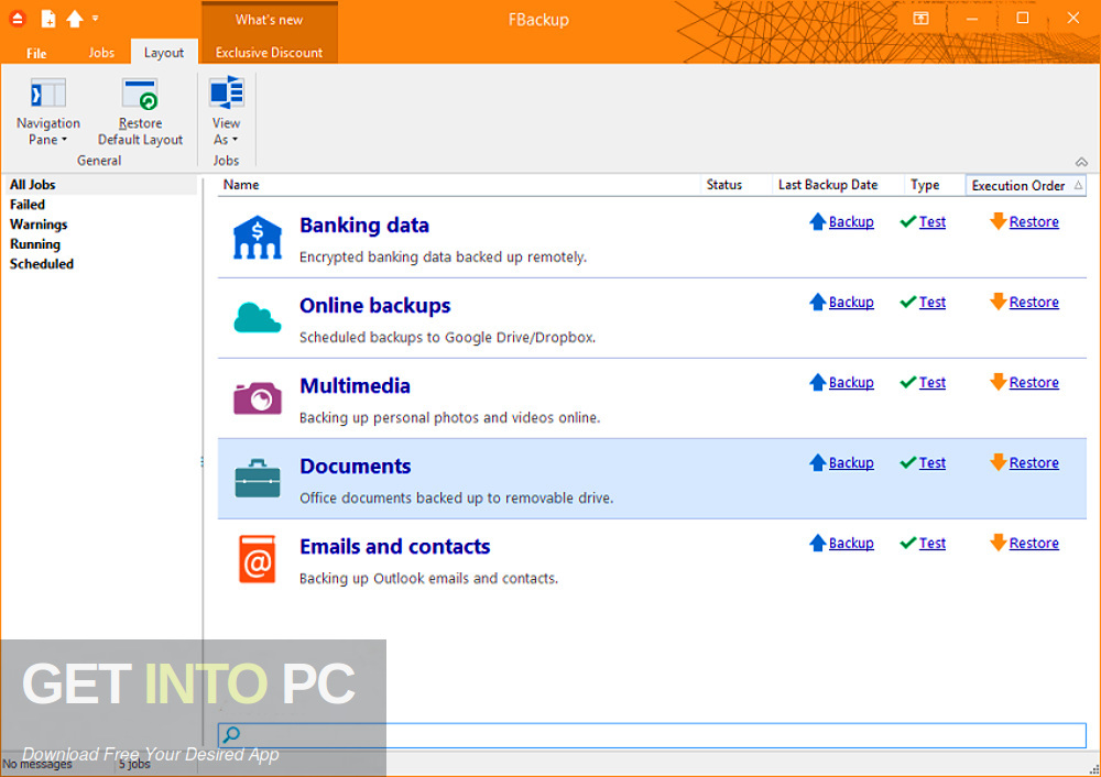 FBackup 2019 v8.1 Direct Link Download-GetintoPC.com