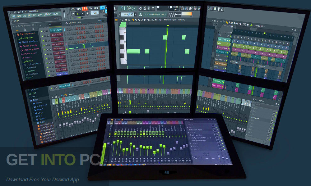 FL Studio Producer Edition + Signature Bundle v20.5 Latest Version Download-GetintoPC.com