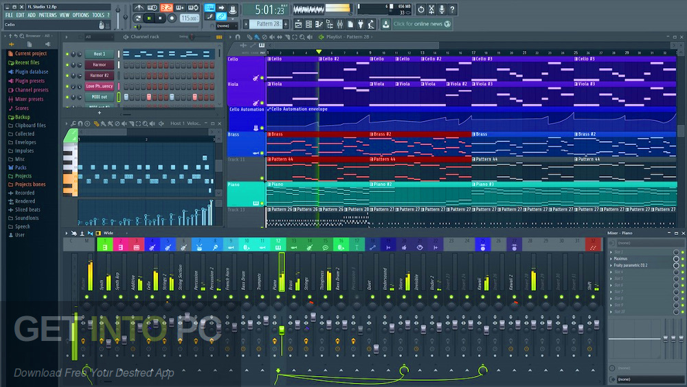 FL Studio Producer Edition + Signature Bundle v20.5 Offline Installer Download-GetintoPC.com