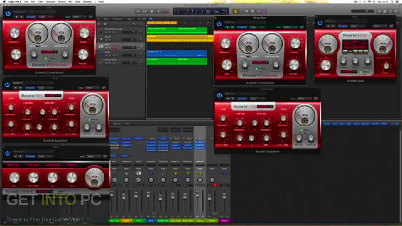 Focusrite - Scarlett Plug-in Suite VST Latest Version Download-GetintoPC.com