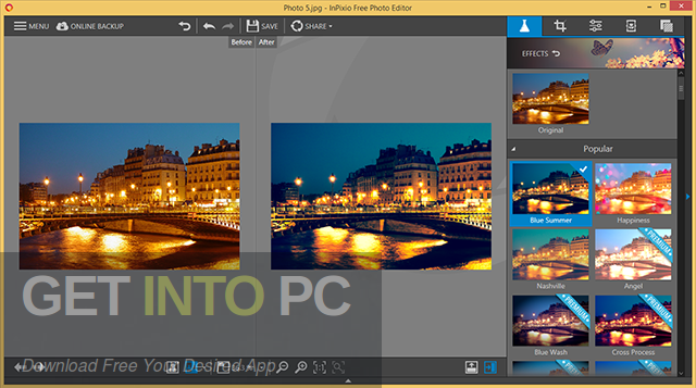 InPixio Photo Editor 2020 Direct Link Download