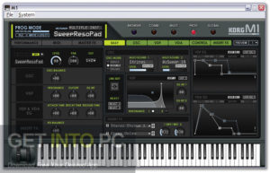 KORG M1 VST Direct Link Download-GetintoPC.com
