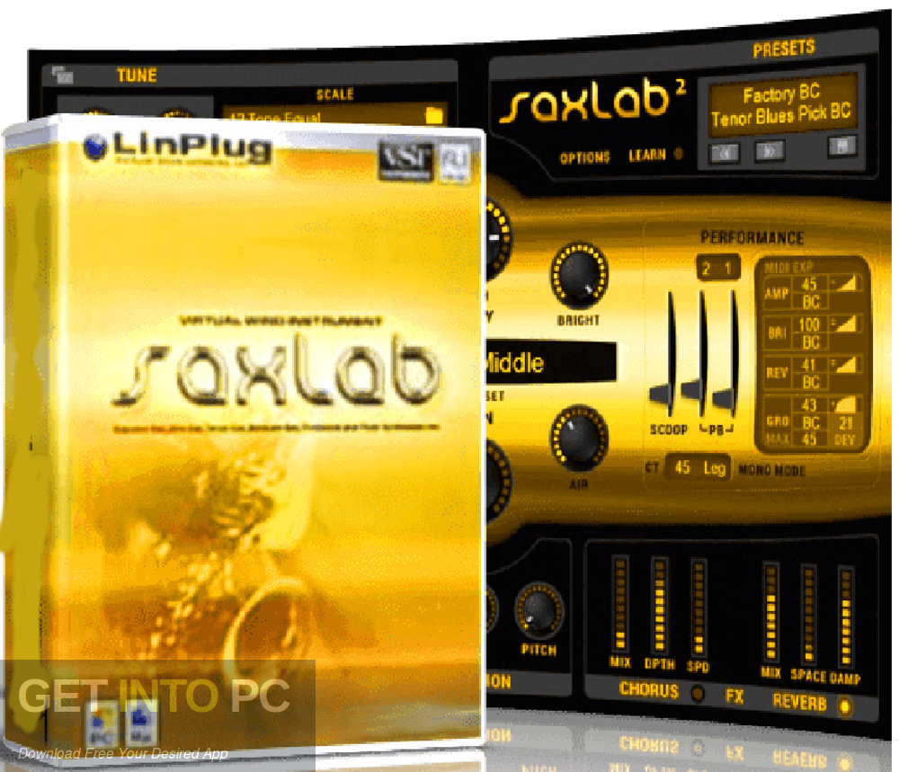 LinPlug - SaxLab VST Free Download
