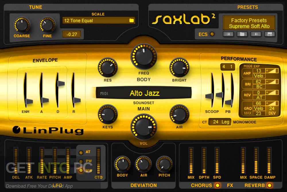 LinPlug - SaxLab VST Latest Version Download-GetintoPC.com