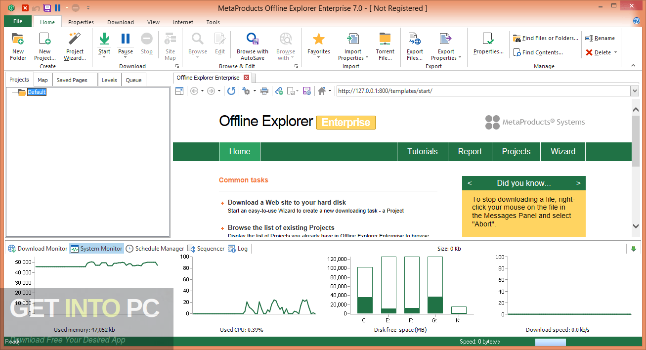MetaProducts Offline Explorer Enterprise 2020 Latest Version Download