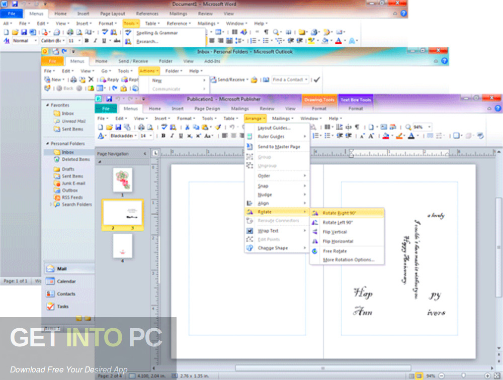 MS Office 2010 SP2 Pro Plus VL X86 JUNE 2020 Latest Version Download