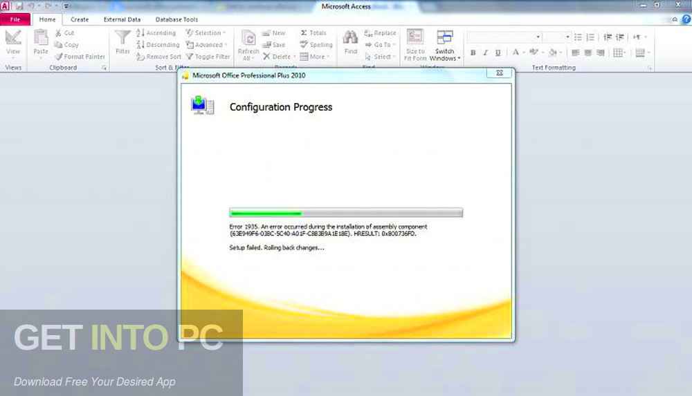 Office 2010 Professional Plus SP2 Updated July 2019 Offline Installer Download-GetintoPC.com