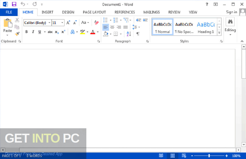 Office 2013 Pro Plus SP1 Updated July 2019 Latest Version Download-GetintoPC.com