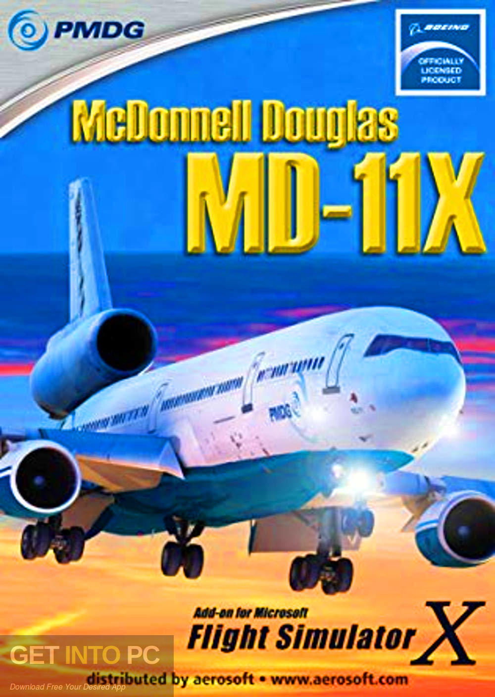 PMDG MD-11 for Flight Simulator Free Download-GetintoPC.com