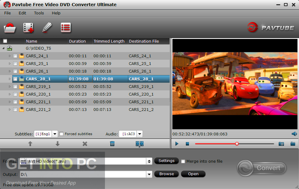 Pavtube Video Converter Ultimate 2019 Offline Installer Download-GetintoPC.com