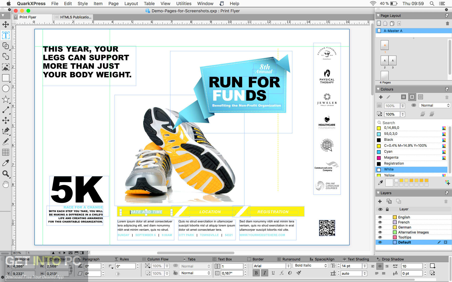 QuarkXPress 2019 Direct Link Download-GetintoPC.com