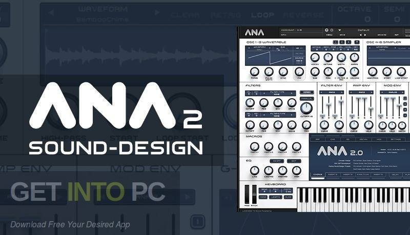 Sonic Academy - ANA 2 VST Free Download-GetintoPC.com