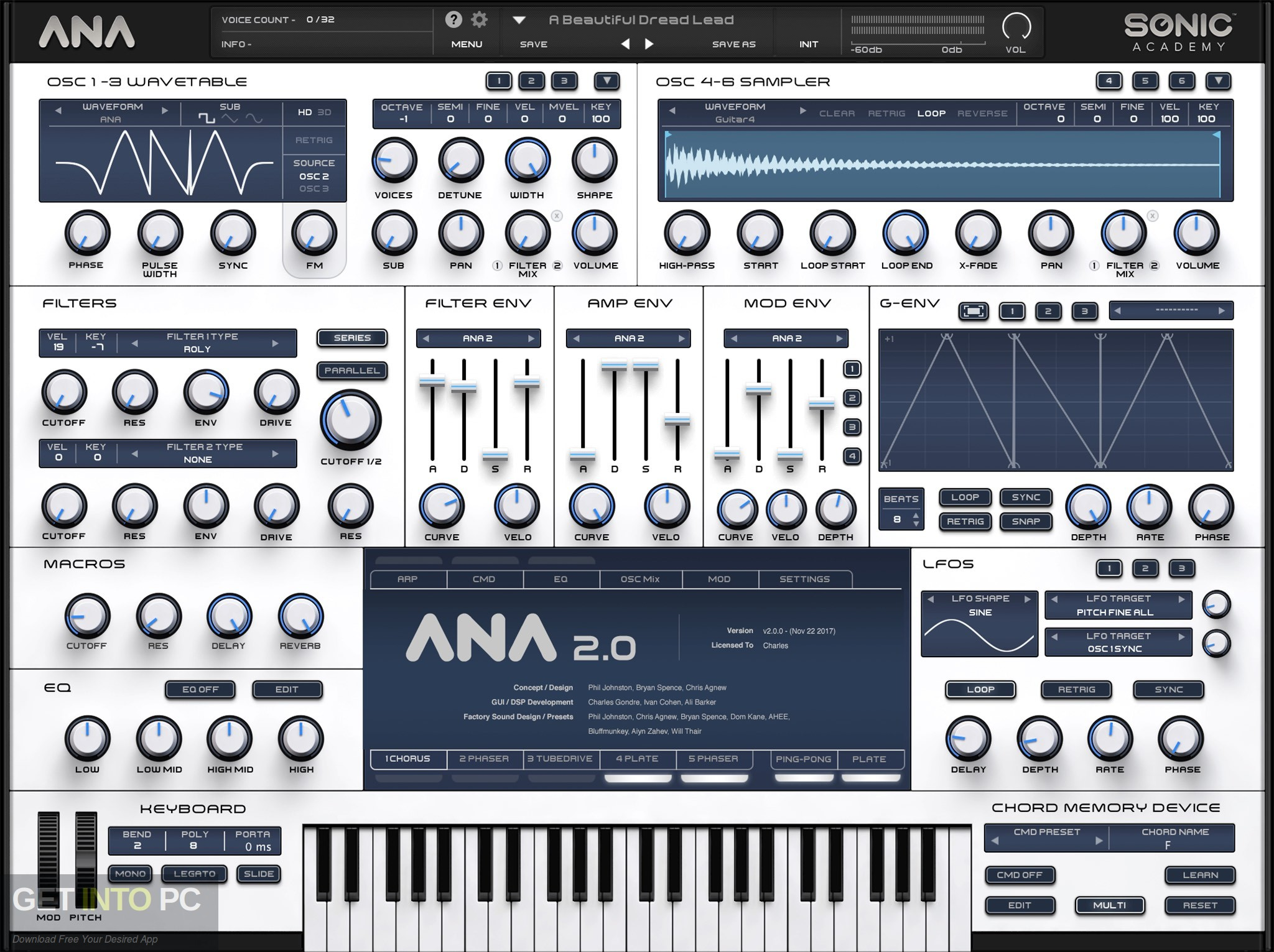 Sonic Academy - ANA 2 VST Offline Installer Download-GetintoPC.com