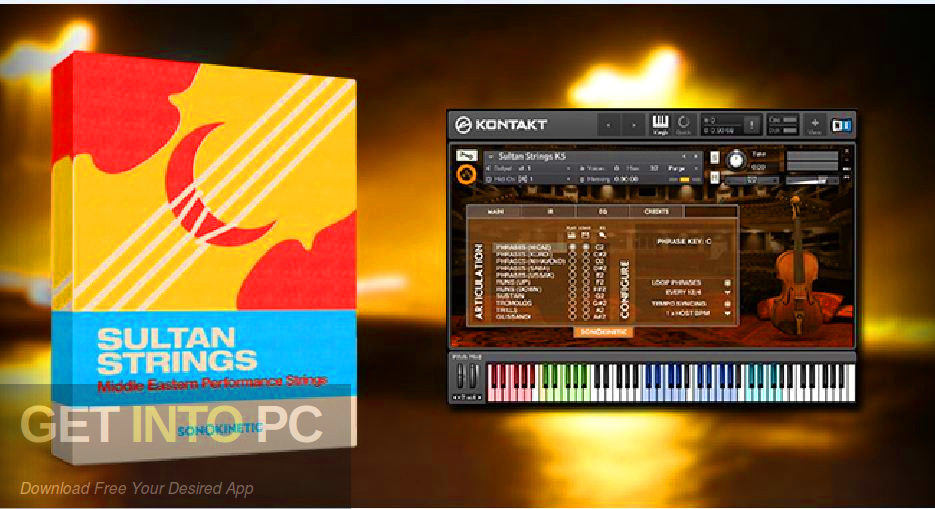Sonokinetic - Sultan Strings (KONTAKT) Free Download-GetintoPC.com