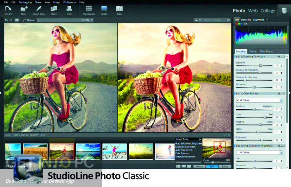 StudioLine Photo Classic 2019 Offline Installer Download-GetintoPC.com