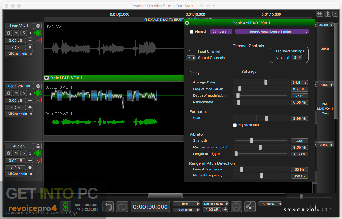 Synchro Arts - Revoice Pro VST Offline Installer Download-GetintoPC.com
