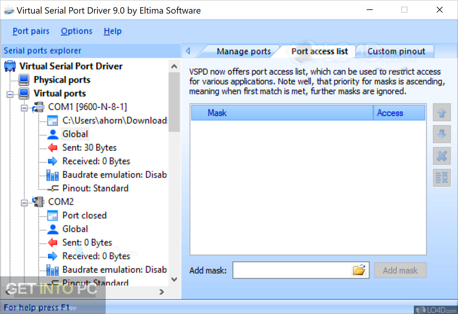 Virtual Serial Ports Driver XP Offline Installer Download-GetintoPC.com