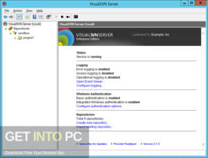 VisualSVN Server Enterprise 2019 Free Download