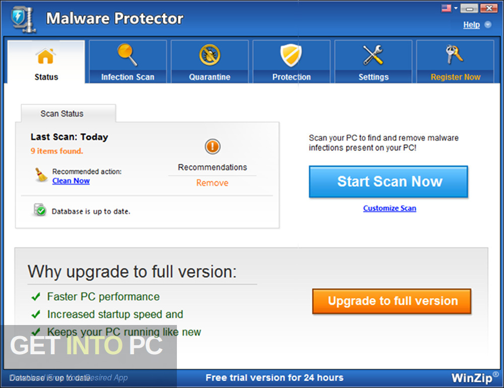 WinZip Malware Protector 2019 Latest Version Download-GetintoPC.com