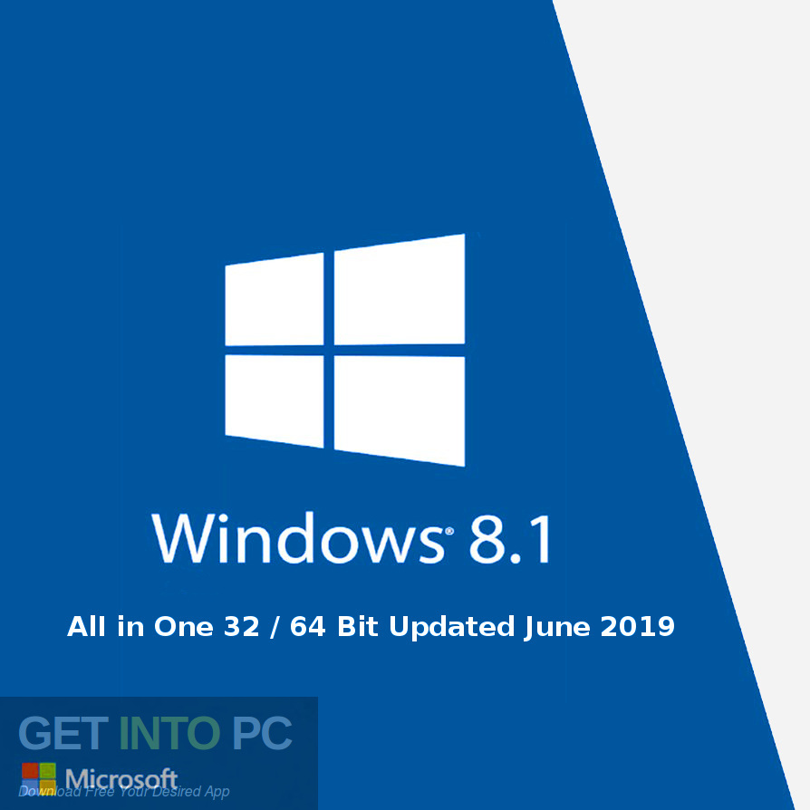 Windows 8.1 AlI in One 32 64 Bit Updated June 2019 Free Download-GetintoPC.com
