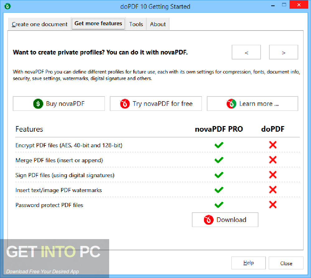 doPDF 2019 v10 Offline Installer Download-GetintoPC.com
