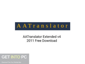 AATranslator Extended v4 2011 Latest Version Download-GetintoPC.com