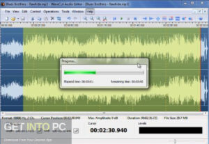AbyssMedia WaveCut Audio Editor 2019 Free Download-GetintoPC.com