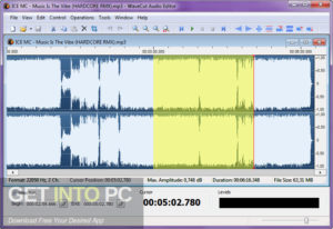 AbyssMedia WaveCut Audio Editor 2019 Offline Installer Download-GetintoPC.com