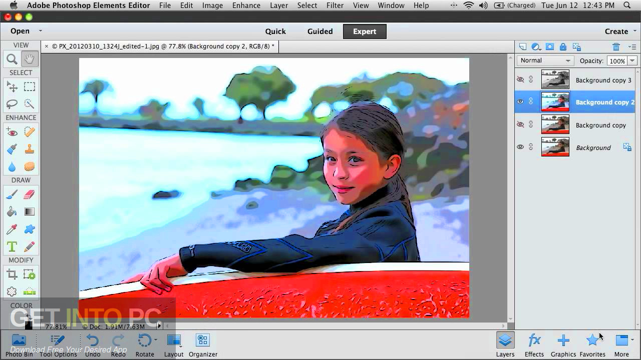 Adobe Photoshop Elements 11 Direct Link Download-GetintoPC.com
