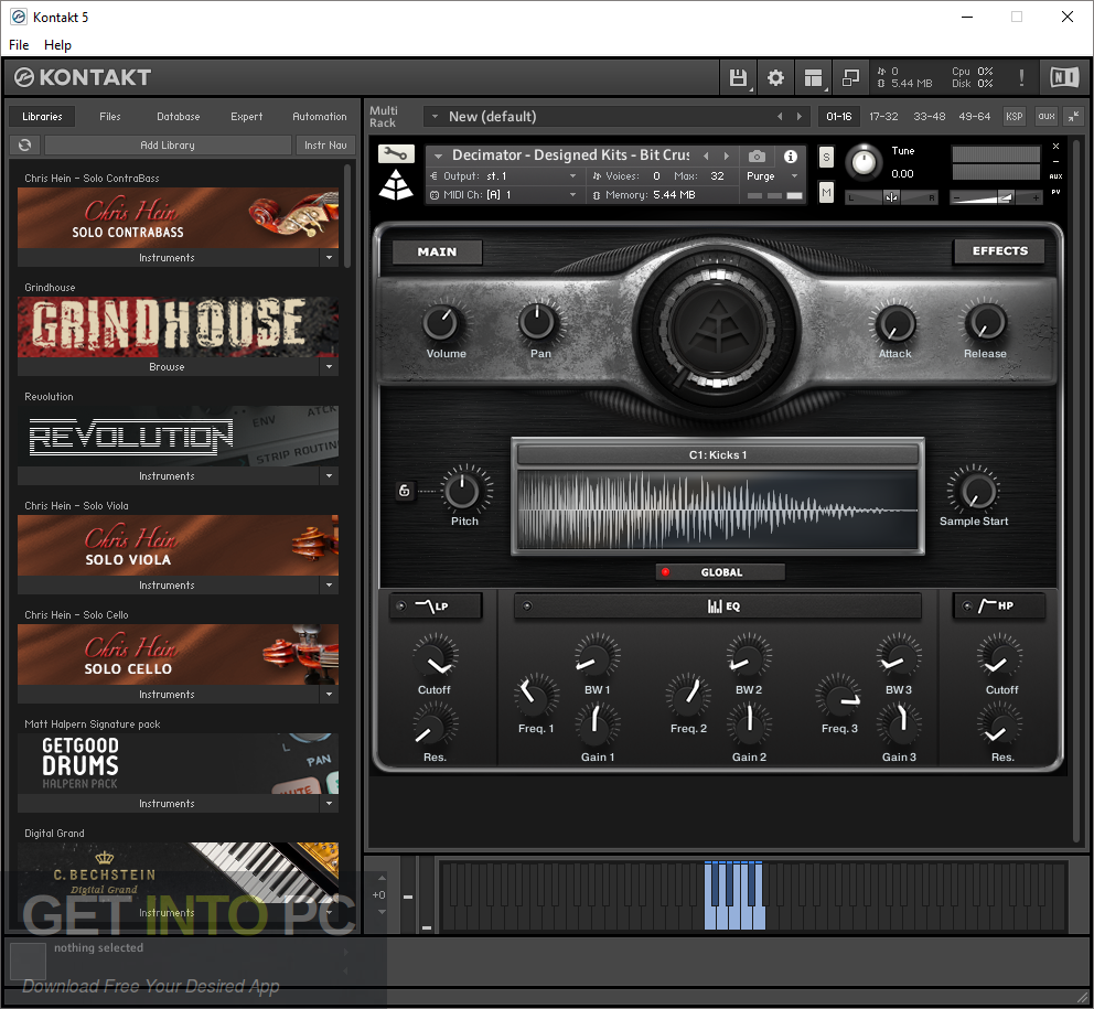 Hephaestus Sounds - Concert Flute (KONTAKT) Latest Version Download