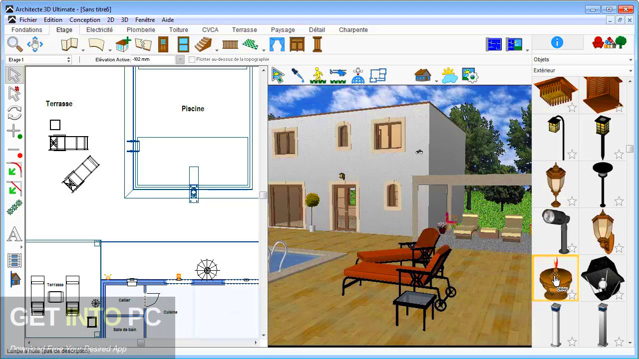 Avanquest Architect 3D Ultimate Plus v20 2019 Latest Version Download-GetintoPC.com