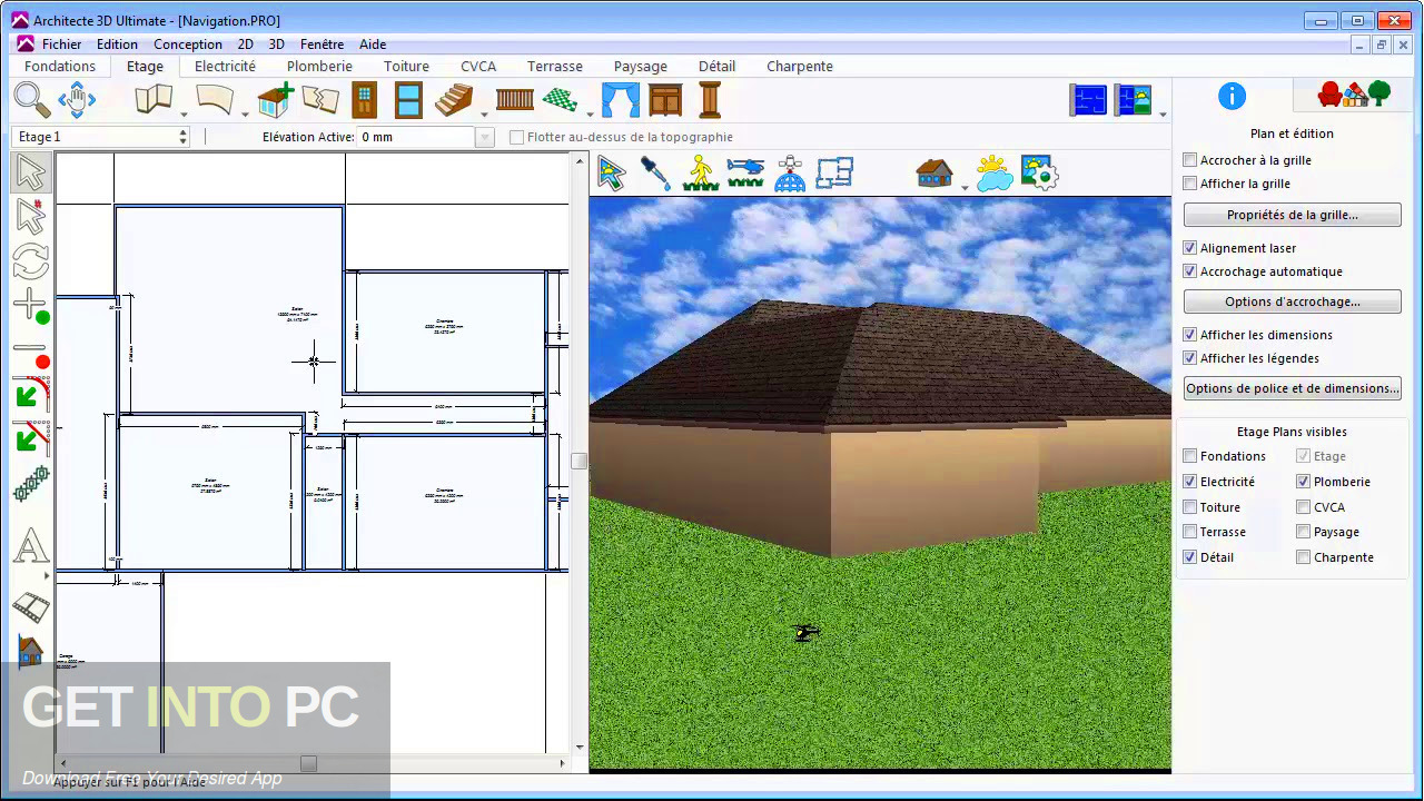 Avanquest Architect 3D Ultimate Plus v20 2019 Offline Installer Download-GetintoPC.com