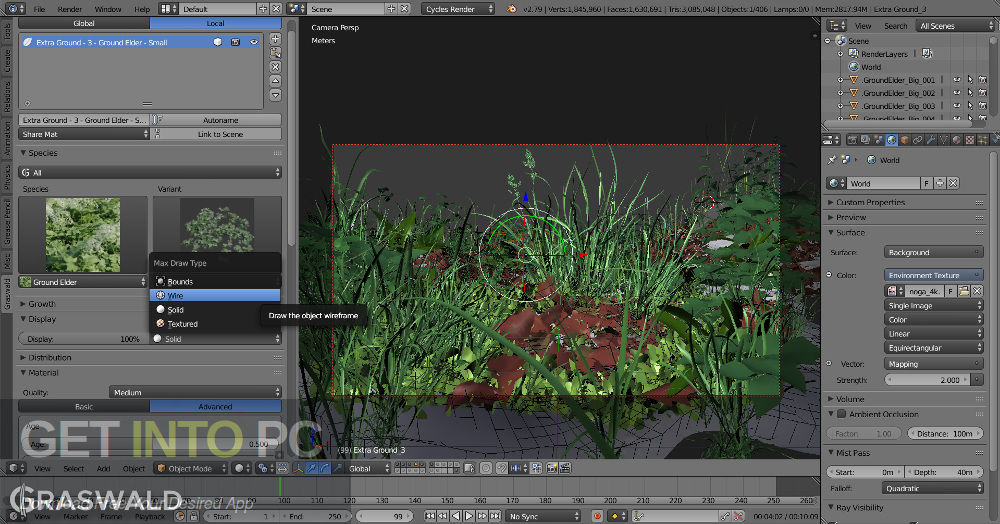 Blender Addons – Graswald and Cuber Direct Link Download-GetintoPC.com