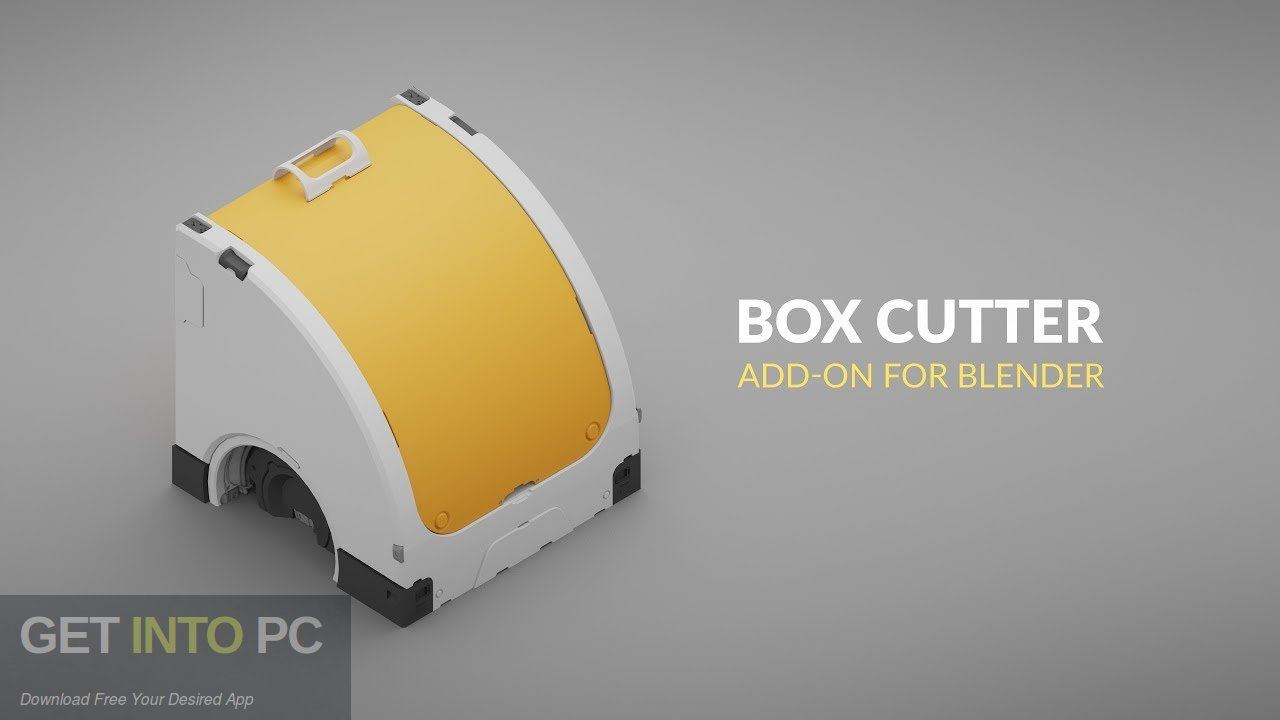 BoxCutter Addon for Blender Free Download-GetintoPC.com