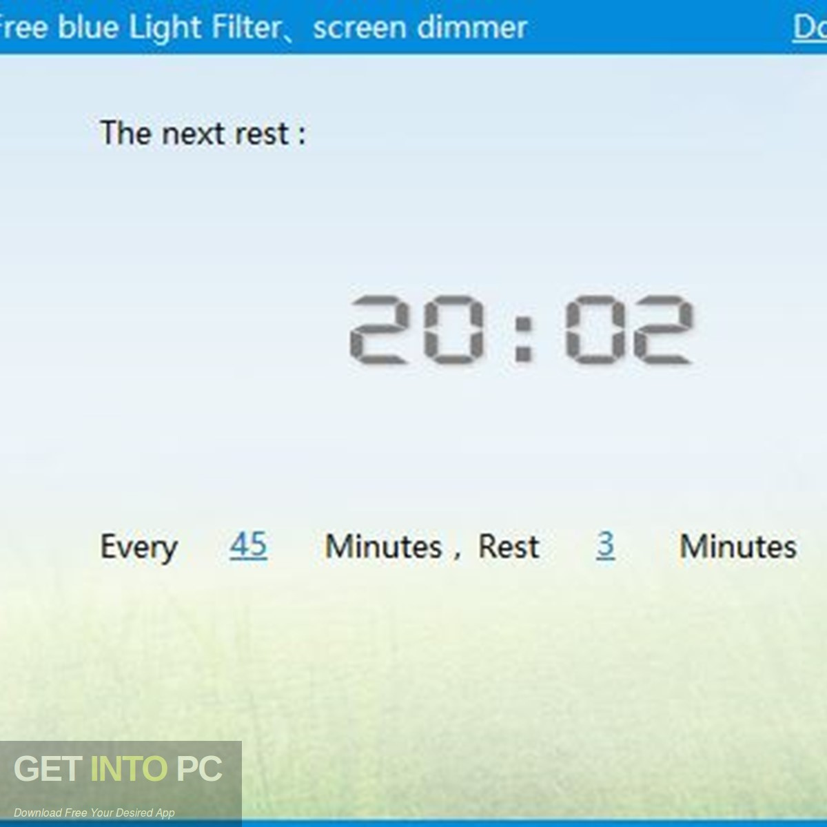 CareUEyes 2019 (Filters Blue Light) Latest Version Download-GetintoPC.com