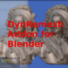 DynRemesh Addon for Blender Free Download-GetintoPC.com