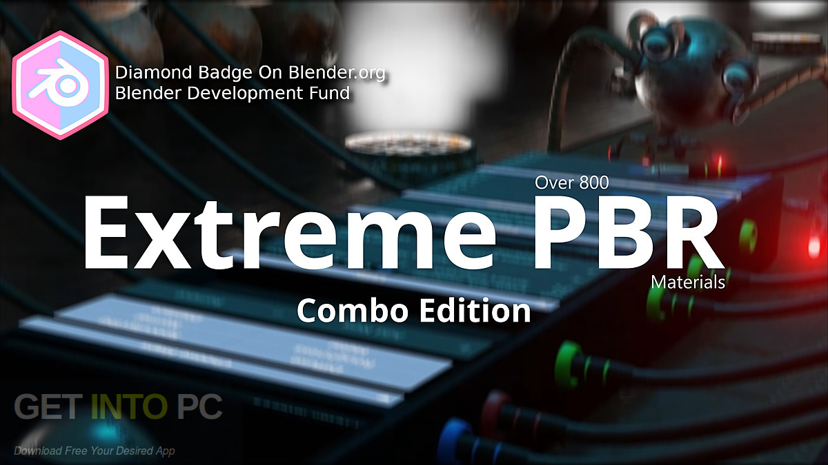 Download Extreme PBR 2 0 addon for Blender 2 8