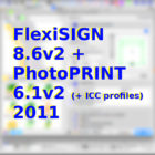 FlexiSIGN 8.6v2 + PhotoPRINT 6.1v2 (+ ICC profiles) 2011 Free Download