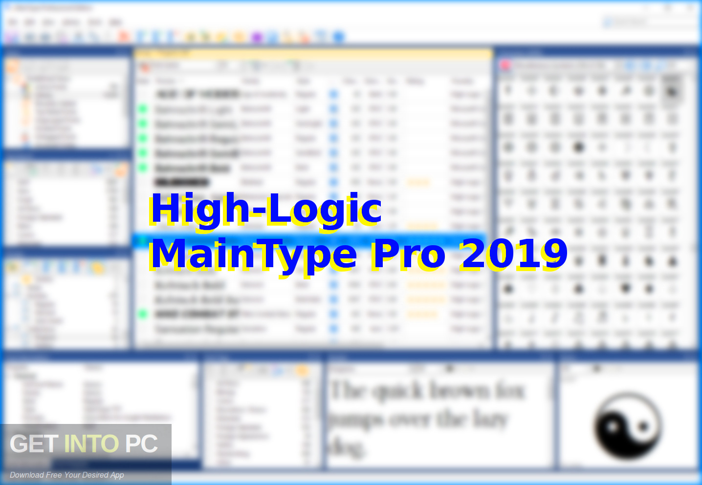 High-Logic MainType Pro 2019 Free Download