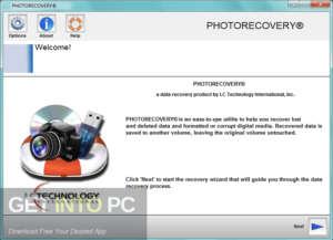 LC Technology PHOTORECOVERY Professional 2019 Free Download-GetintoPC.com