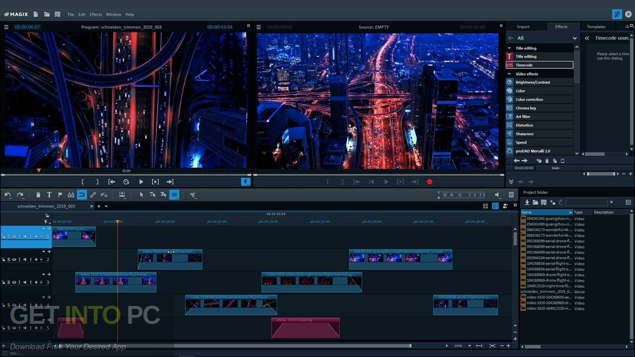MAGIX Movie Edit Pro 2020 Latest Version Download-GetintoPC.com