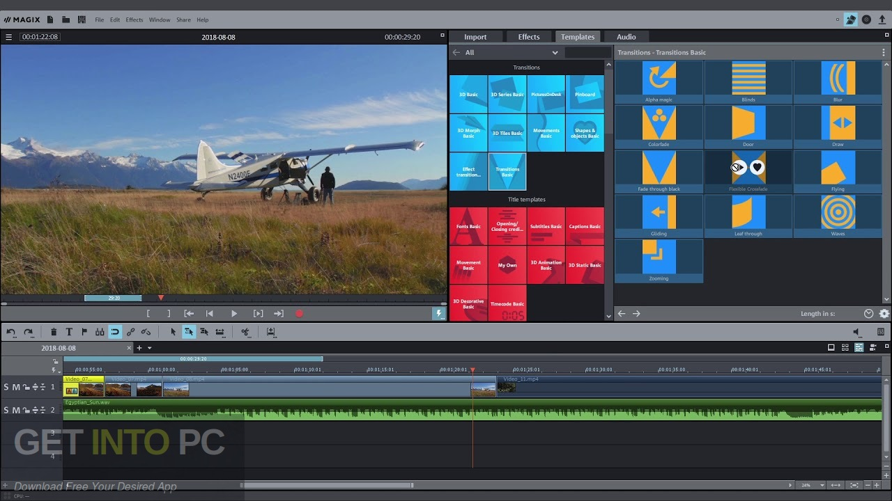 MAGIX Movie Edit Pro 2020 Offline Installer Download-GetintoPC.com